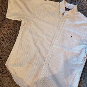 Ralph lauren big shirt L short sleeve button up